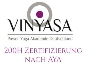 Zertifikat yoga auf sylt